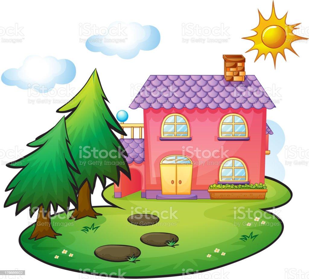 house ilustración de house y más banco de imágenes de aire libre libre de derechos