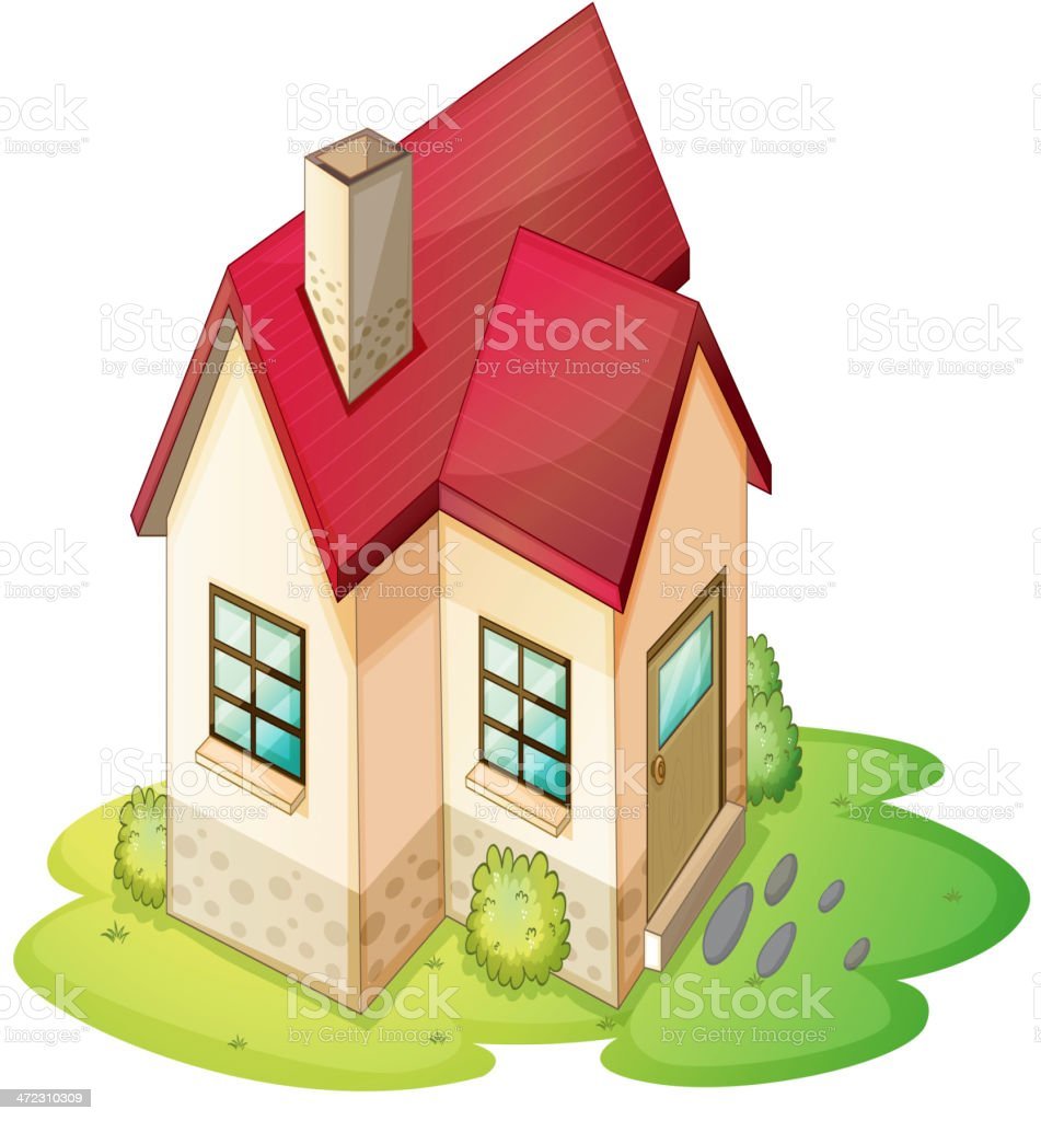 House royalty-free house stock vector art & more images of brick