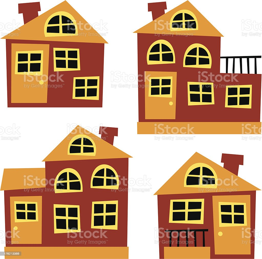 house – vector illustration royalty-free house vector illustration stock vector art & more images of attic