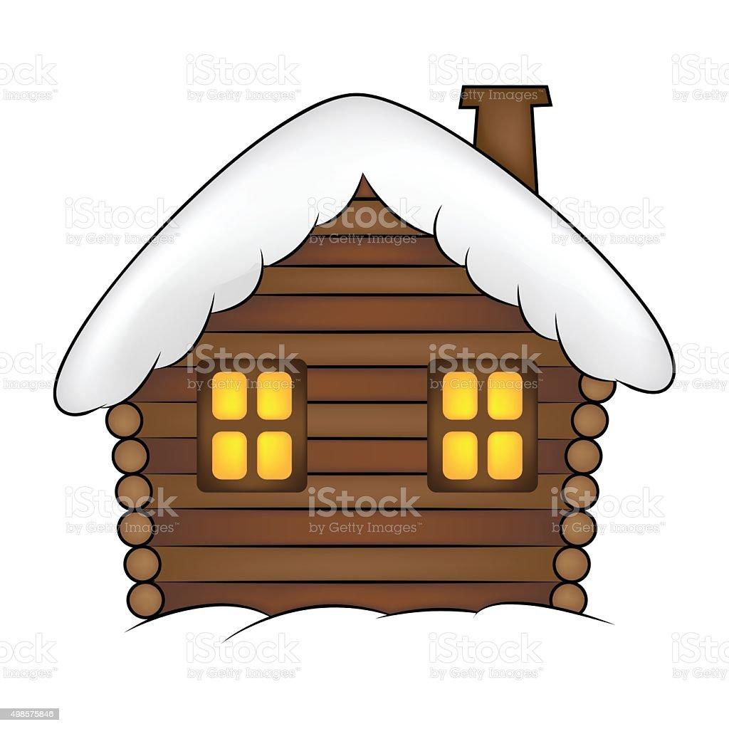 Ilustracion De Casa Con Nieve Ilustracion Dibujo Animado Y Mas Banco