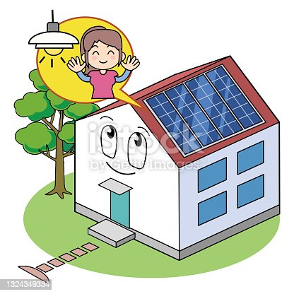 istock House with solar panels 1324349334