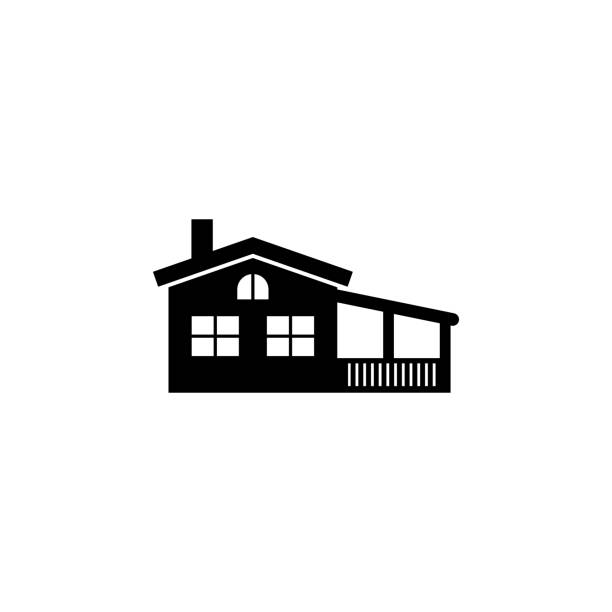 house with veranda icon. Element of travel icon for mobile concept and web apps. Thin line house with veranda icon can be used for web and mobile. Premium icon house with veranda icon. Element of travel icon for mobile concept and web apps. Thin line house with veranda icon can be used for web and mobile. Premium icon on white background porch stock illustrations