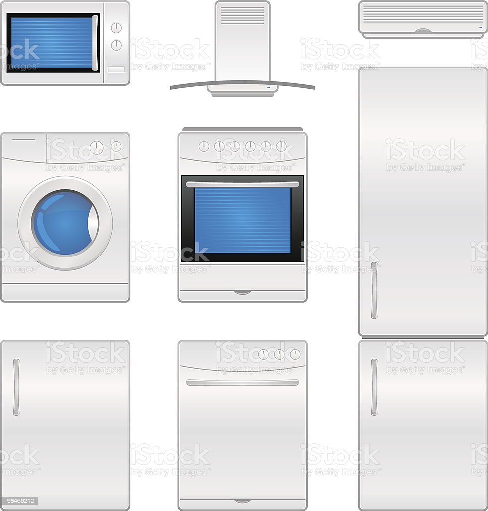 Household appliance icons royalty-free household appliance icons stock vector art & more images of air conditioner