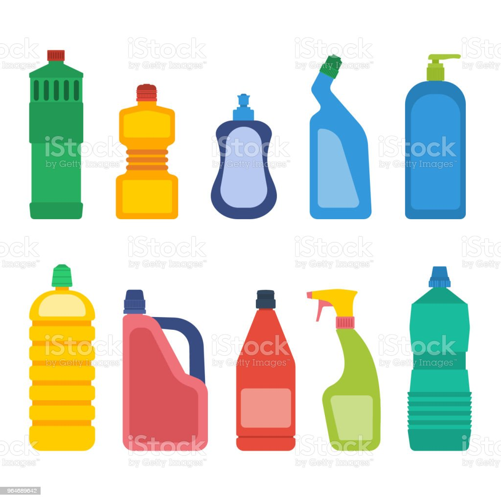 Household chemicals vector royalty-free household chemicals vector stock vector art & more images of antiseptic