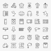Household Line Icons