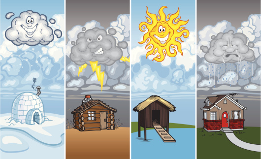 Houses and Weather