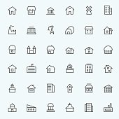 Houses icons.