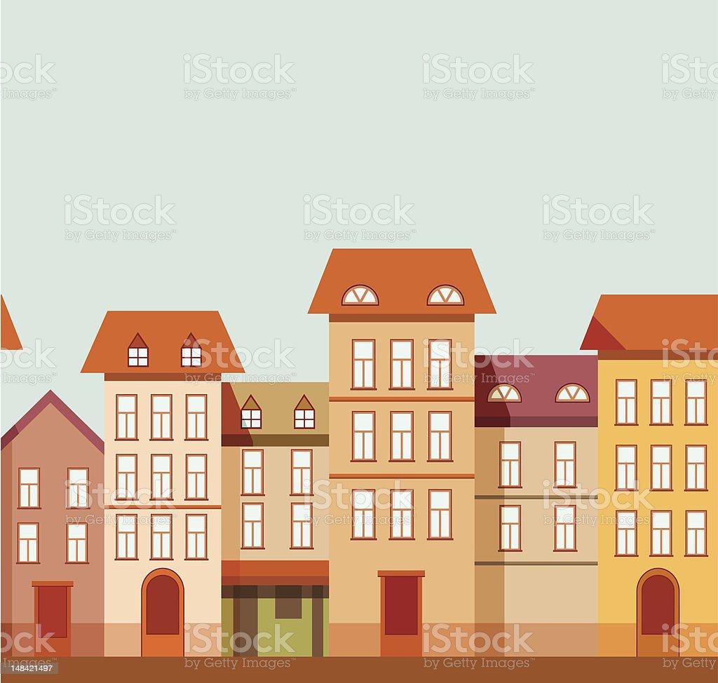 Houses royalty-free stock vector art