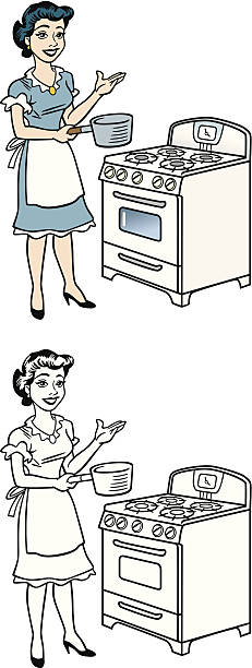 26+ Illustration 50S Housewife Cartoon Images