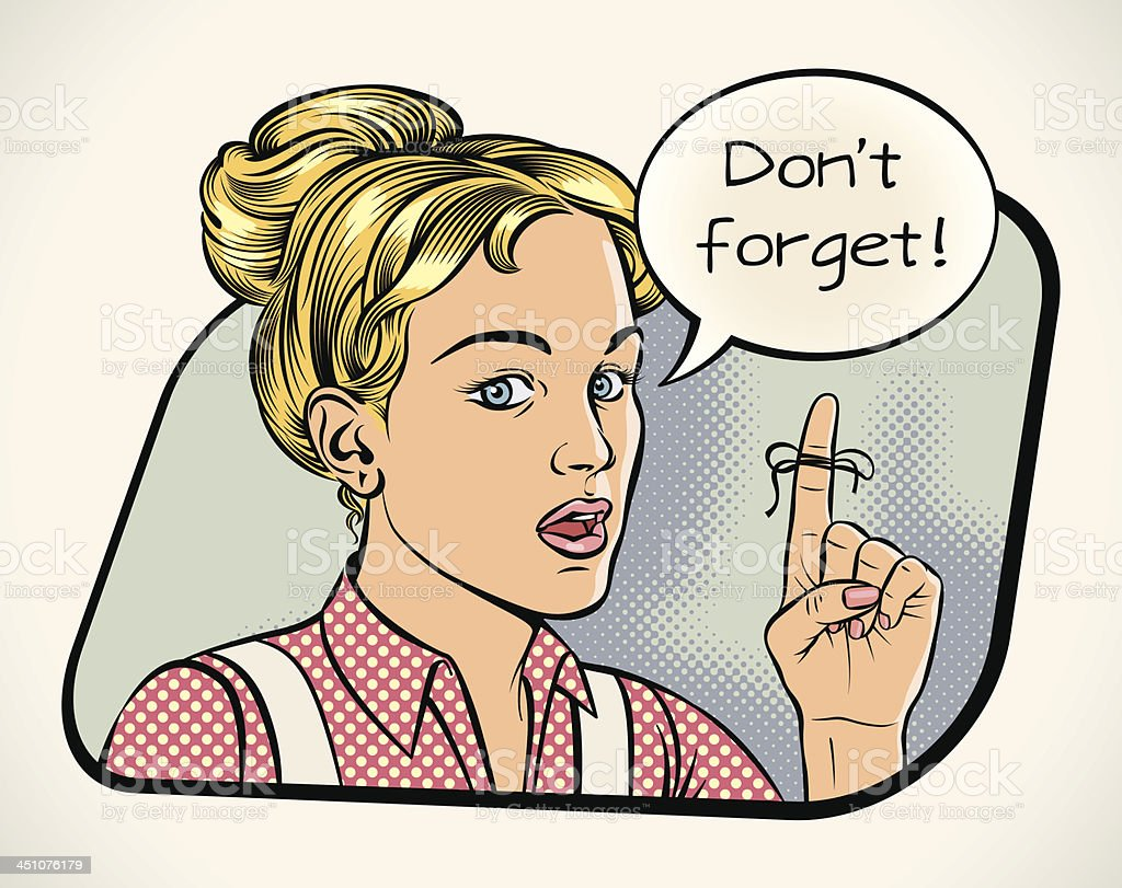 Housewife's reminder royalty-free housewifes reminder stock vector art & more images of adult