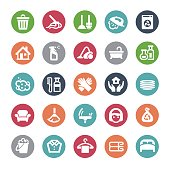 Housework Icons - Bijou Series