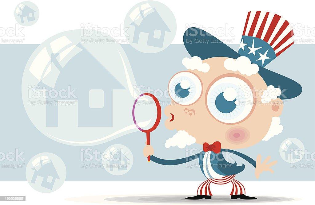 Housing Bubble royalty-free housing bubble stock vector art & more images of abundance