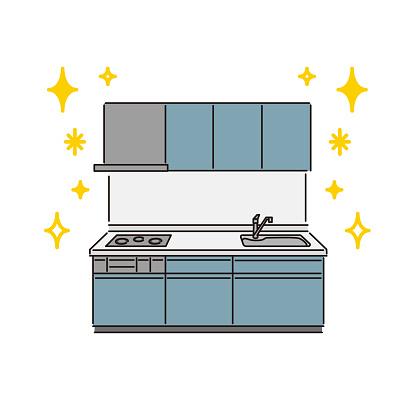 Housing equipment: System kitchen (built-in IH cooking heater)