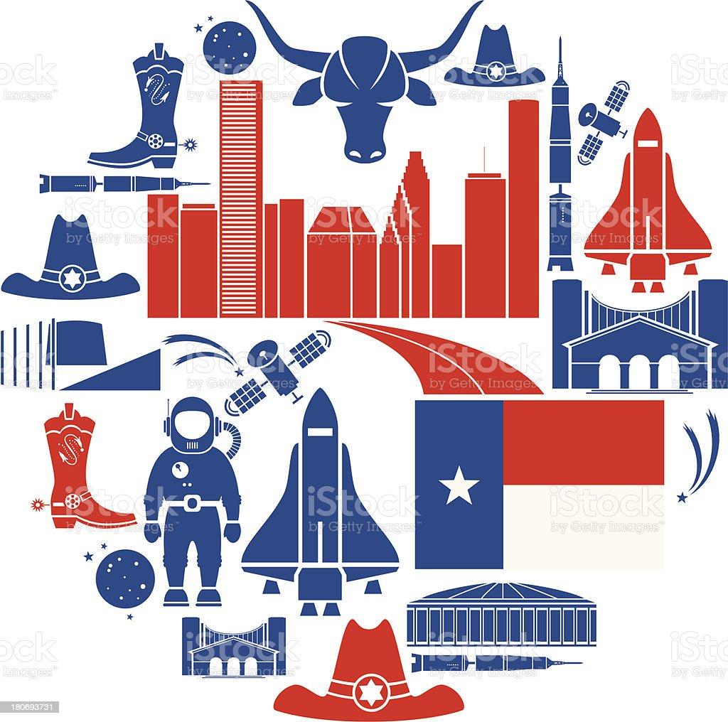 Houston Icon Set