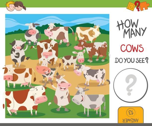 ilustraciones, imágenes clip art, dibujos animados e iconos de stock de cuántas vacas juego - fiesta en la oficina