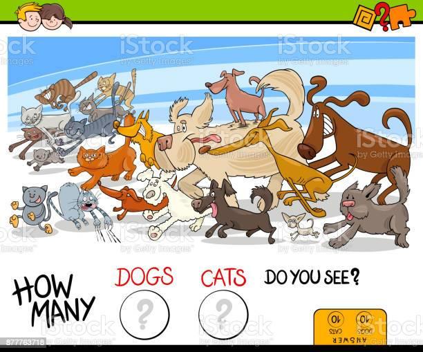 How many dogs and cats activity game vector id877763718?b=1&k=6&m=877763718&s=612x612&h=egcpg5avbvj5ldyajrvrrhxzostjcsxtv55dz1hy a8=