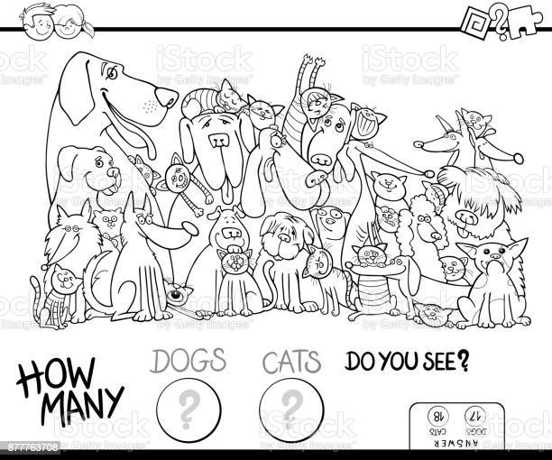 How many dogs and cats coloring book vector id877763708?b=1&k=6&m=877763708&s=612x612&h=iqbdnra9jtnon8md3z8hgfs0tj8sim0tn76ggzsshfc=