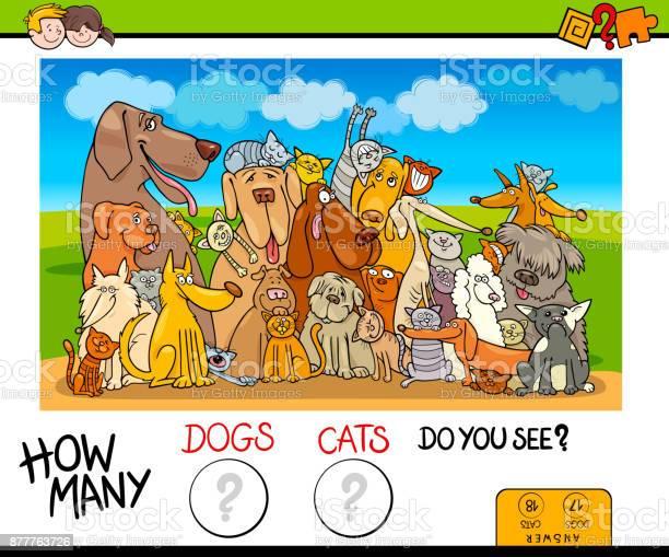 How many dogs and cats counting game vector id877763726?b=1&k=6&m=877763726&s=612x612&h=heynleg3jik7xallafjfzhz9rvsxaxh7xdidn3rjcb8=