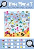 How many ocean animal