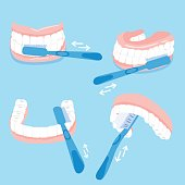how to brush tooth