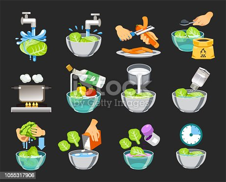 How to clean vegetables without toxic substances. Healthy food concept.