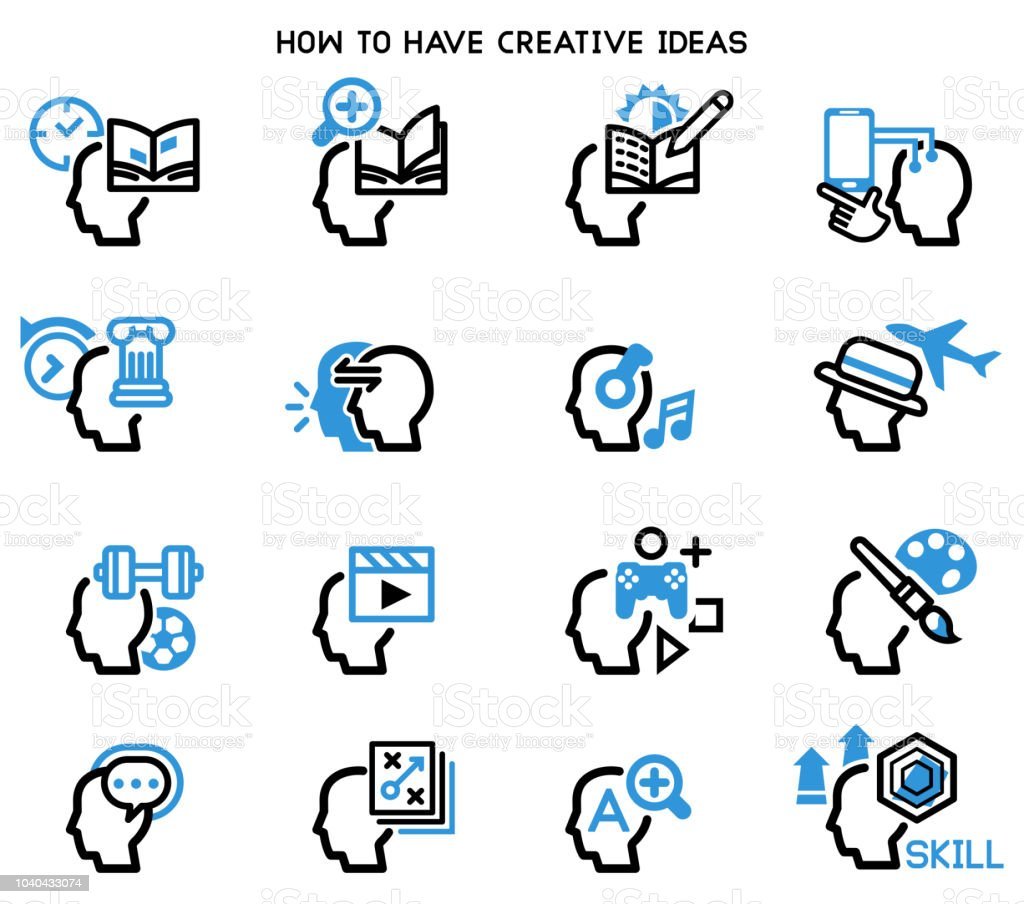 How To Have Creative Good Ideas Preparation Yourself For Quality Idea Royalty Free