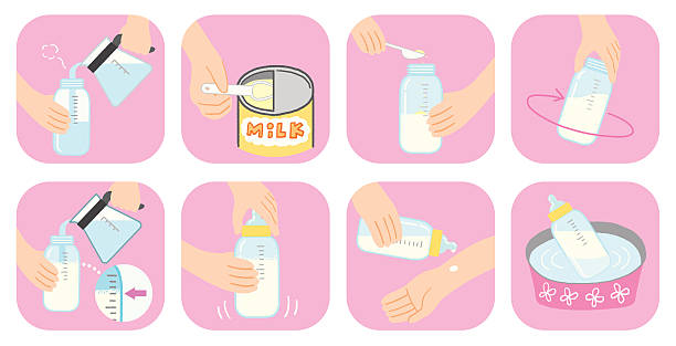 How to make milk vector art illustration
