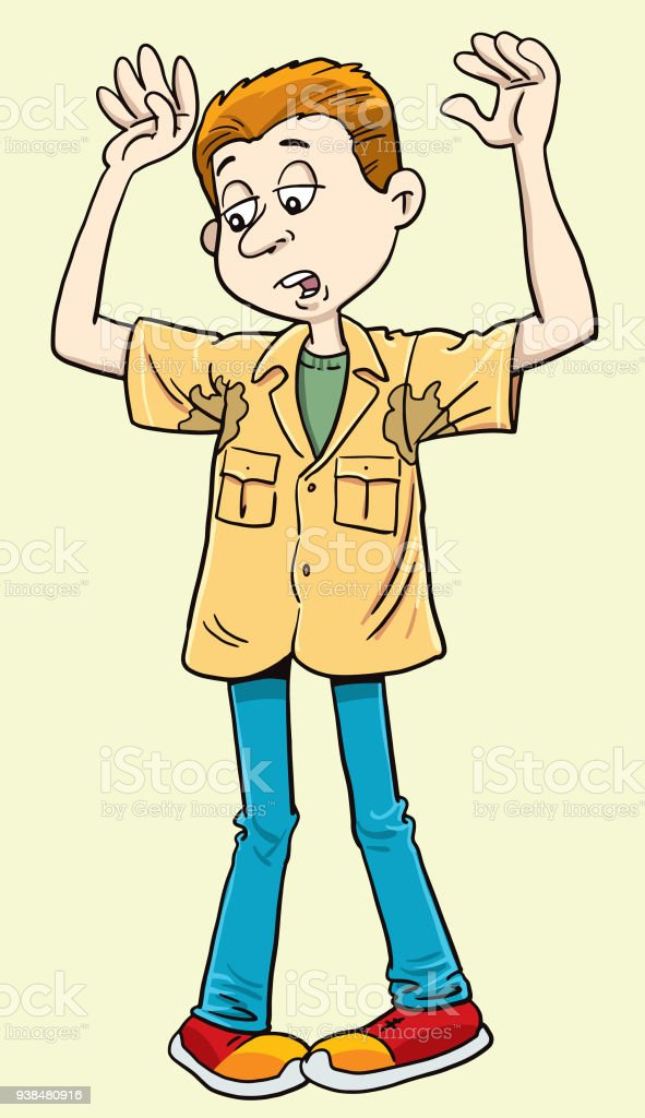 How To Stop Underarm Sweating Stock Illustration - Download