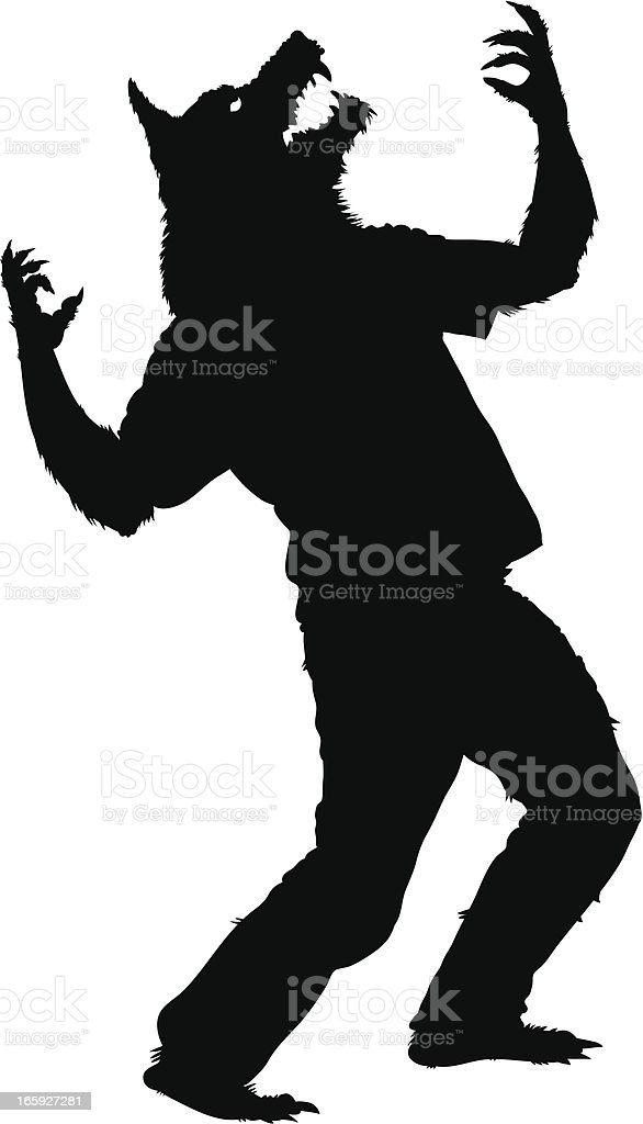 royalty free werewolf clip art vector images illustrations istock rh istockphoto com werewolf clip art public domain werewolf clipart black and white