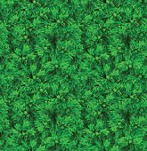 Green Vector Realistic Seamless Pattern. Christmas Tree Needles. Background For Cards, Invitation, Paper, Textile Or Web