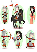 Hua Mulan Chinese Traditional Culture