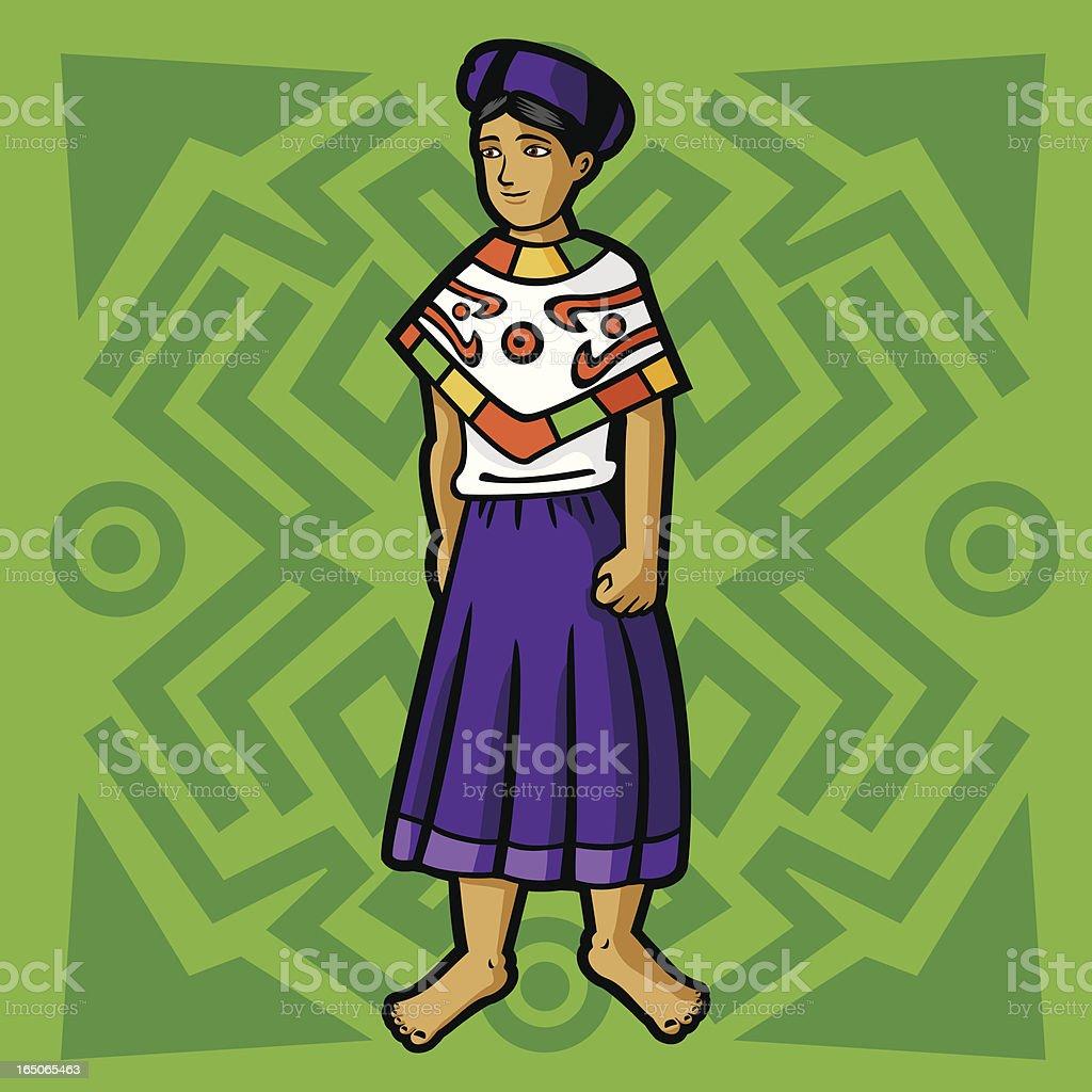 Huasteca (Mexican garment series) royalty-free huasteca stock vector art & more images of adult