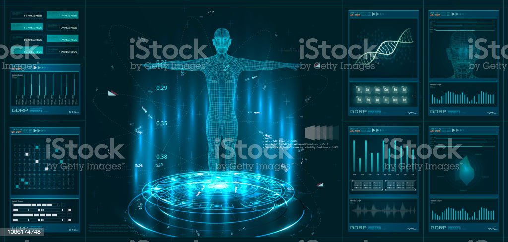 Hud 要素 ui 診察。仮想インターフェイス要素のセットを表示します。モダンな診察 HUD スタイル ロイヤリティフリーhud 要素 ui 診察仮想インターフェイス要素のセットを表示しますモダンな診察 hud スタイル - 3dのベクターアート素材や画像を多数ご用意