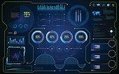 hud ui gui future futuristic screen system virtual design background