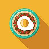 istock Huevos Rancheros Mexican Food Icon 1171003927