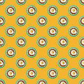 istock Huevos Rancheros Mexican Food Pattern 1181281383
