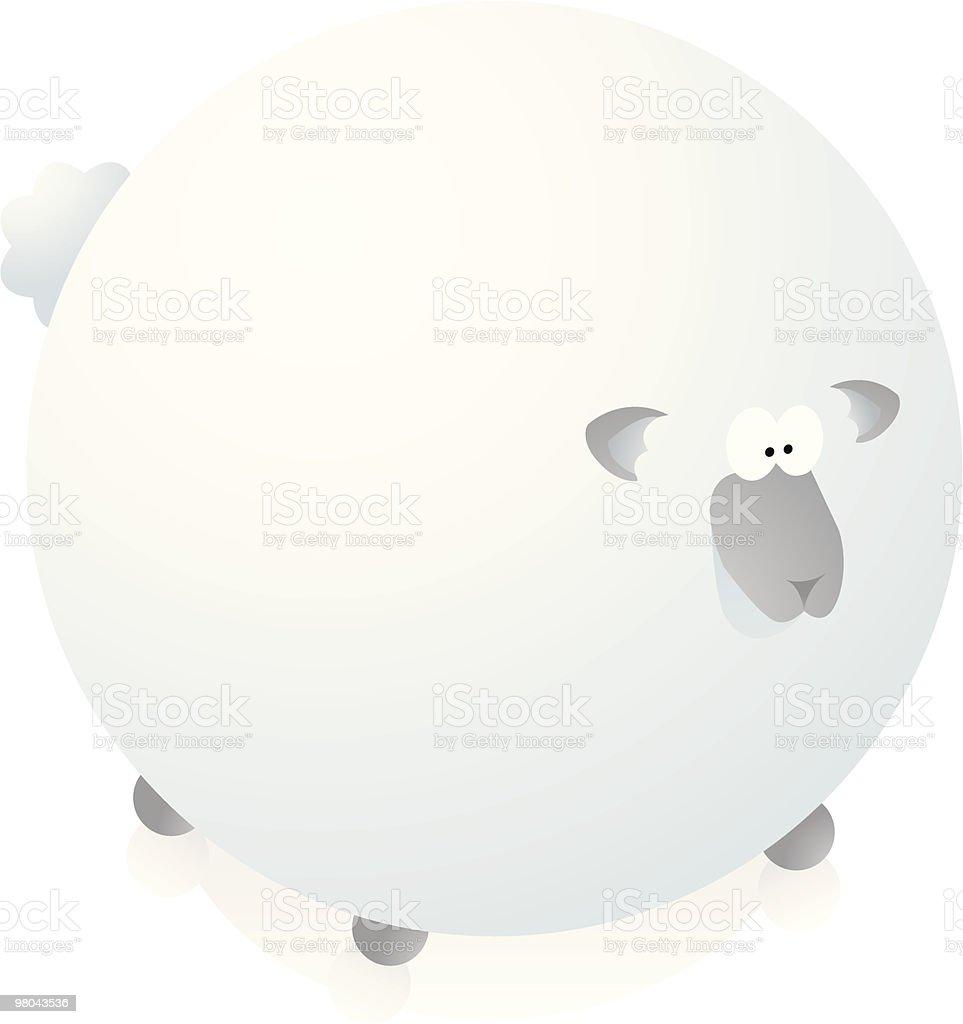 Huge sheep royalty-free huge sheep stock vector art & more images of animal