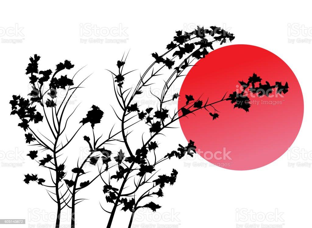 Die Sonne umarmen – Vektorgrafik