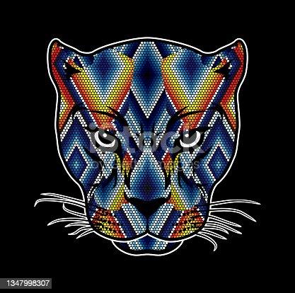 istock huichol art jaguar 1347998307