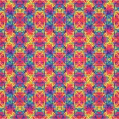 Huichol art rug Pattern