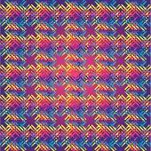 Huichol  rug Pattern