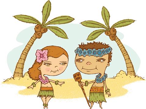 Hula Couple