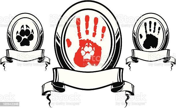 Human and dog hand print vector id165943346?b=1&k=6&m=165943346&s=612x612&h=jmvuxgul3ujp6gxszqxpyrry0r4bimn9vykczrwtrmc=