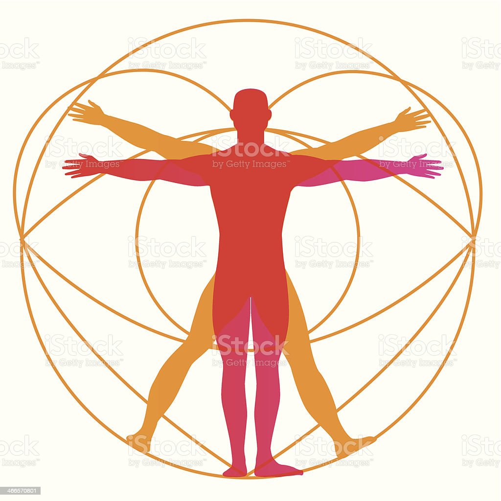 Human Body Design - Illustration vector art illustration