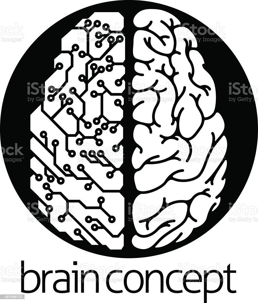 human brain electrical circuit circle stock vector art more images Electric Circuit human brain electrical circuit circle royalty free human brain electrical circuit circle stock vector art
