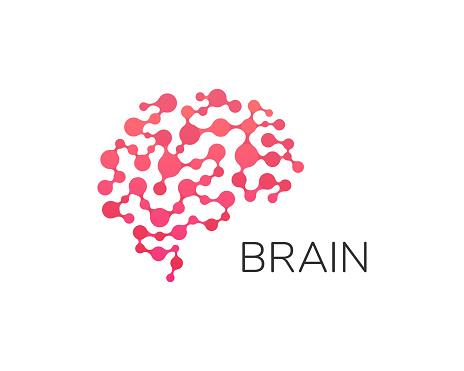 Human Brain Logo Neural Network Memory Atlas Minimal ...