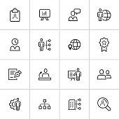 Human Capital Icons — Inky Series
