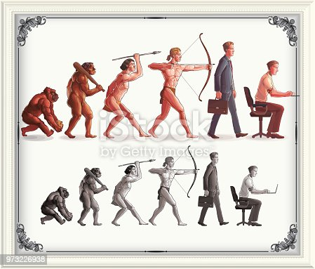 Human evolution progress, eps9