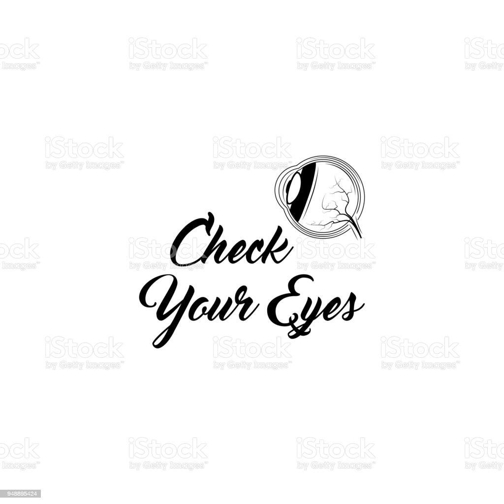 Menschliche Anatomie Augensymbol Überprüfen Sie Ihre Augensymbol ...