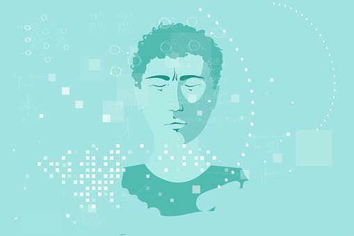 Human face and machine learning algorithms, big data